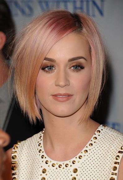 Katy Perry Layered Razor Cut