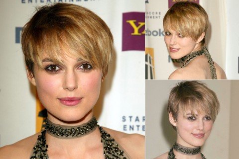 Keira Knightley's Short Hairstyles
