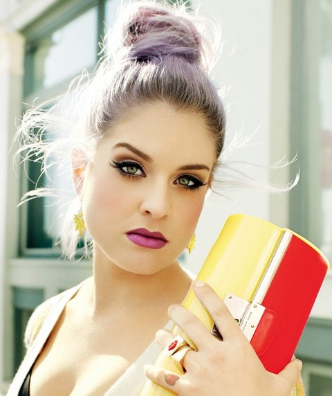 Kelly Osbourne Hairstyles: Super-chic Hair Knot