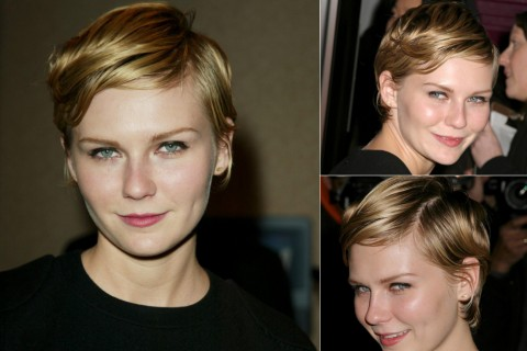 Kristen Dunst's short hairstyles