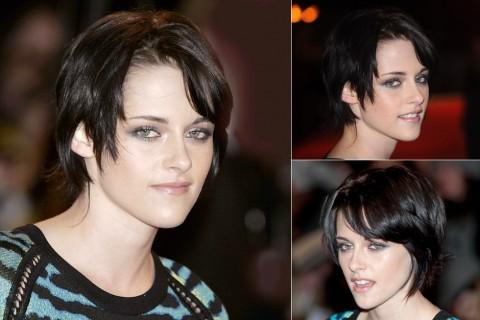 Kristen Stewart's short hairstyles
