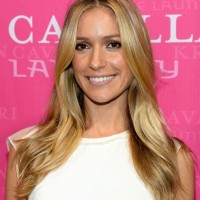Kristin Cavallari Long Hair style: 2014 Straight and Ash-blonde Hair