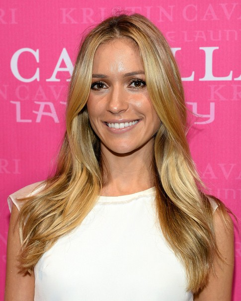 Kristin Cavallari Long Hair style: 2014 Straight and Ash-blonde Hair