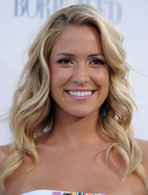 Kristin Cavallari Long Hairstyle: Billowy Curls