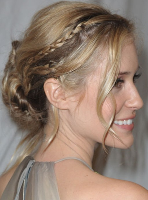 Kristin Cavallari Long Hairstyle: Braided Hair