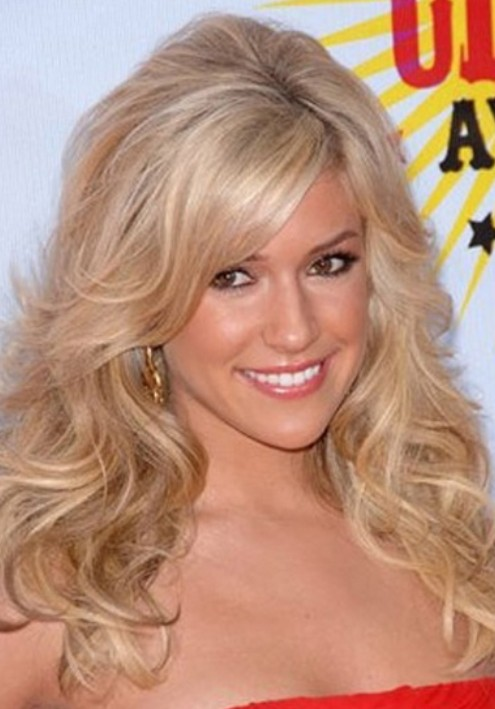 Kristin Cavallari Long Hairstyle: Fluffy Curls