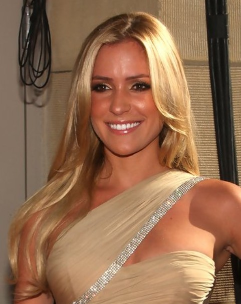 Kristin Cavallari Long Hairstyle: Straight Hair with Center Part
