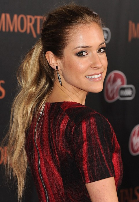 Kristin Cavallari Long Hairstyle: Ultra-long Ponytail