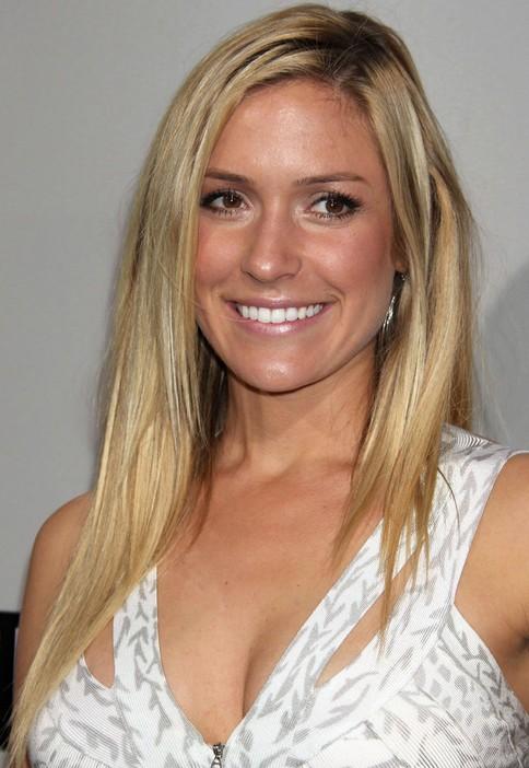 Kristin Cavallari Long Hairstyle: Uneven Straight Haircut