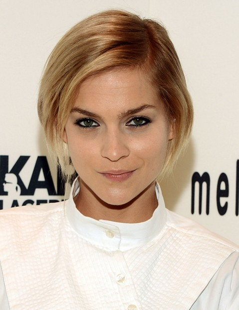 Leigh Lezark's Short Hairstyles: Ombre Short Hair