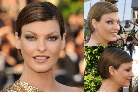 Linda Evangelista's Short hairstyles