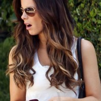 Long & Short Ombre Hair Style 2014  10