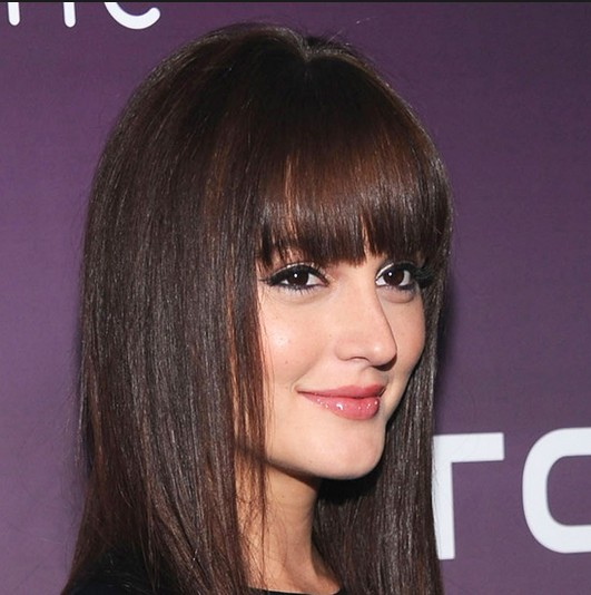 Leighton meester hair layers