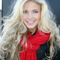 Long Wavy Blond Ombre Hair For Messy Hairstyles
