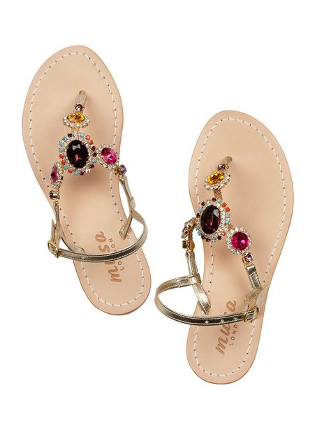 MUSA Embellished leather sandals