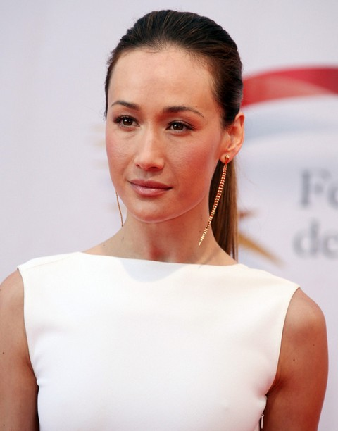 Maggie Q Hairstyles Elegant Ponytail Pretty Designs
