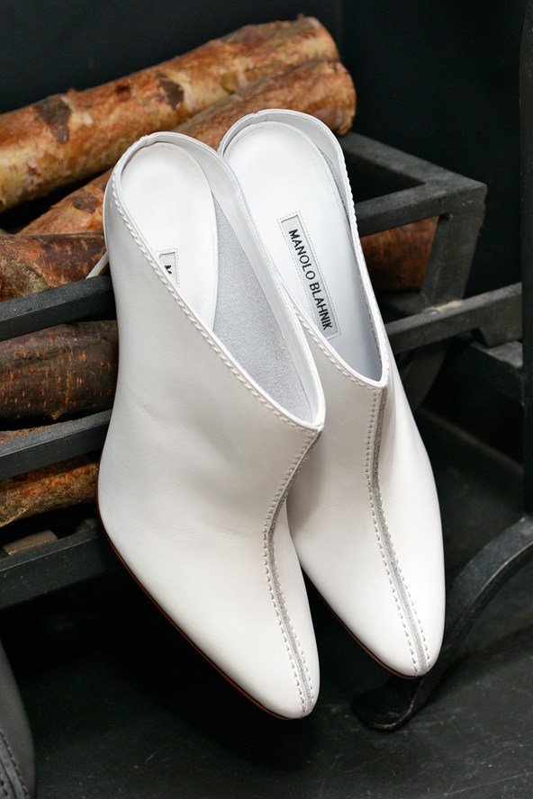 Best White Shoes for Spring - Manolo Blahnik Shoes