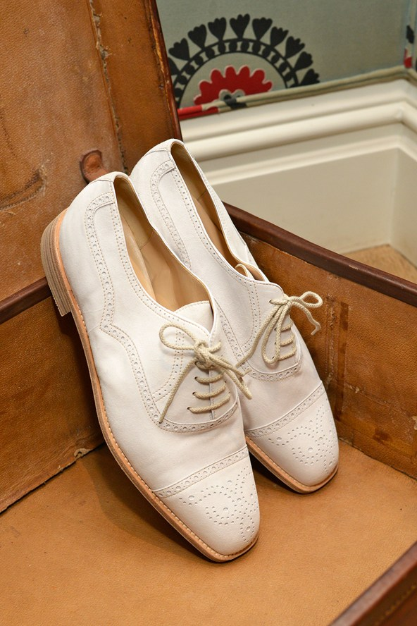 White Shoes for Spring - Manolo Blahnik Shoes