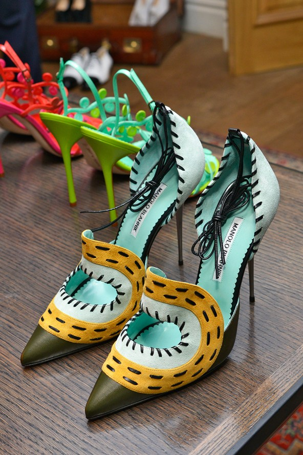 Stylish Shoes for Summer - Manolo Blahnik Shoes for Spring Summer 2014
