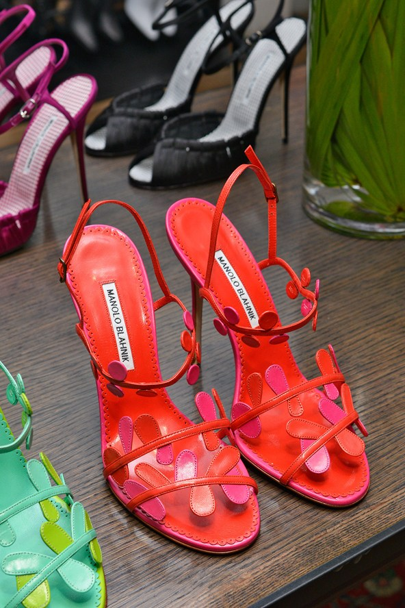 Red Summer Shoes for Women - Manolo Blahnik Shoes