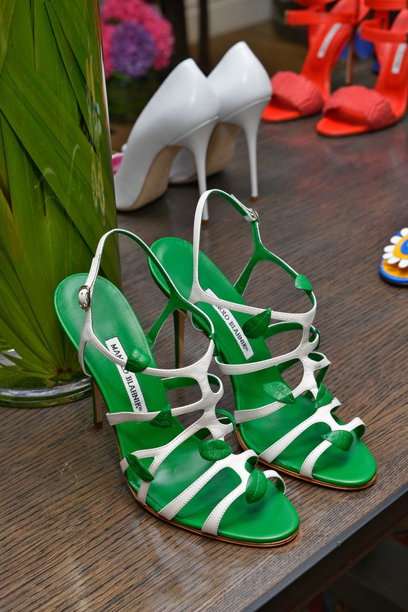 Green Summer Shoes - Manolo Blahnik Shoes 2014
