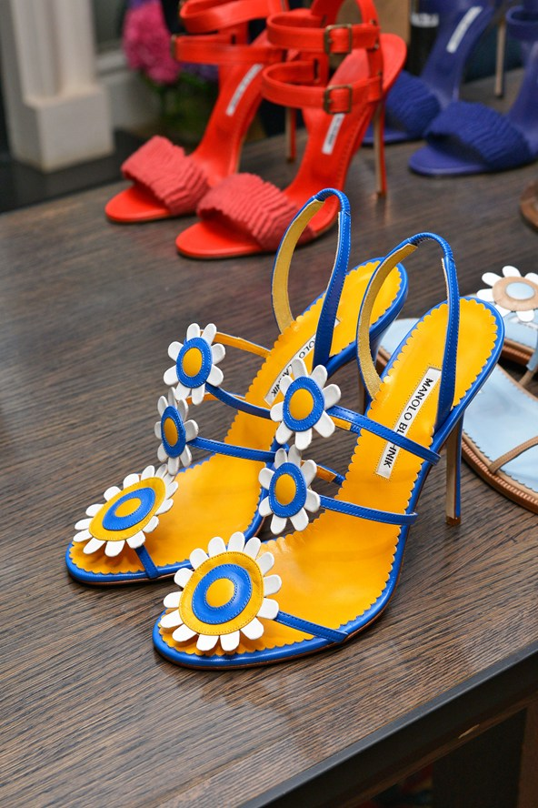 Colorful Summer Shoes 2014 - Manolo Blahnik Shoes