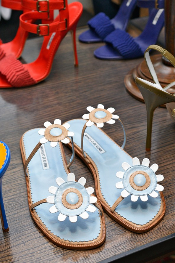 Summer Beach Shoes - Manolo Blahnik Shoes