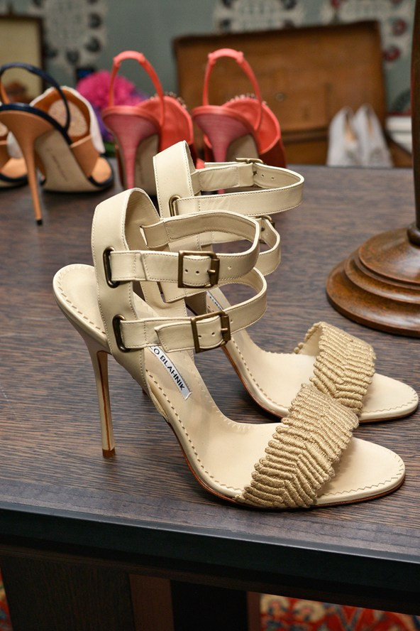 Manolo Blahnik Classic Summer Shoes