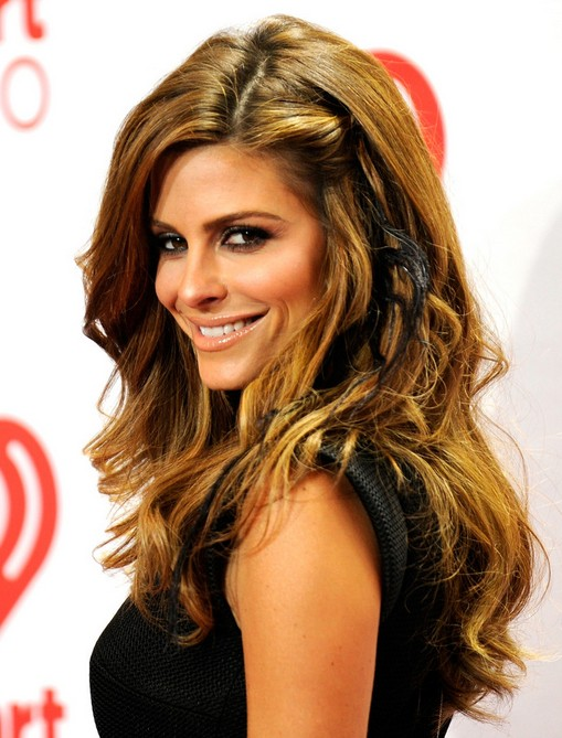 Maria Menounos Long Hairstyles: 2014 Wavy Hairstyles for Thick ...