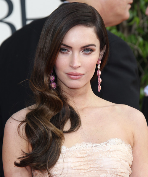 megan fox hair styles 15 side swept hairstyles for all 4082 | Megan Fox