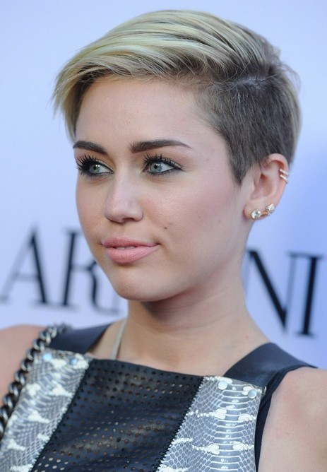 miley cyrus short haircut for 2014 short edgy hairstyle