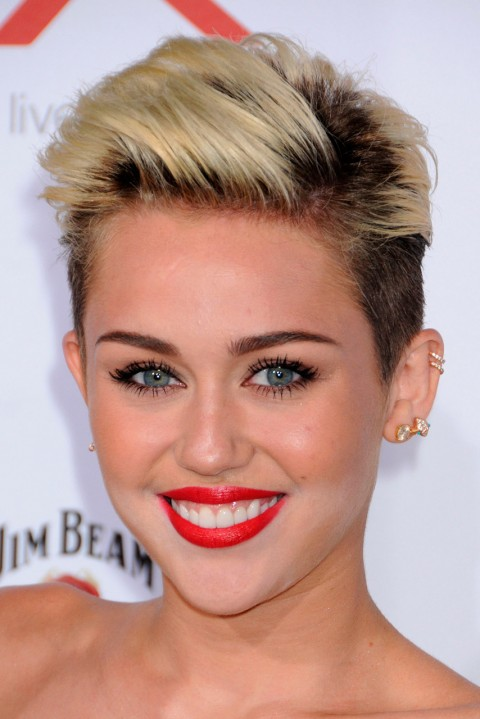 Miley-Cyrus' short hairstyle