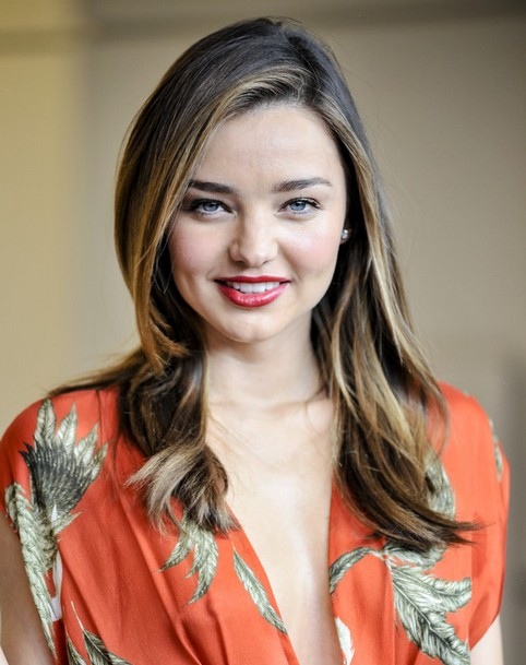 Miranda Kerr Long Hairstyles: Ombre Hairstyle 2014
