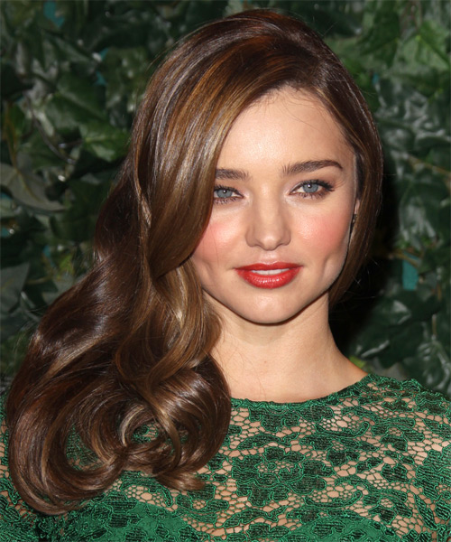 15+ Classy Celebrities' Side-swept Hairstyles for All Face ...