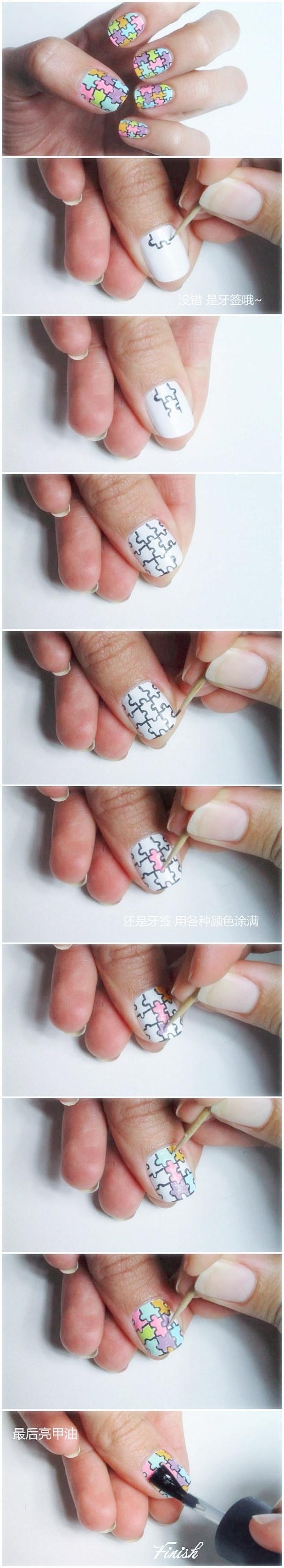 Easy Nails Tutorials