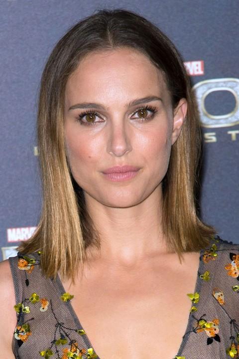 NataliePortman's short hairstyles