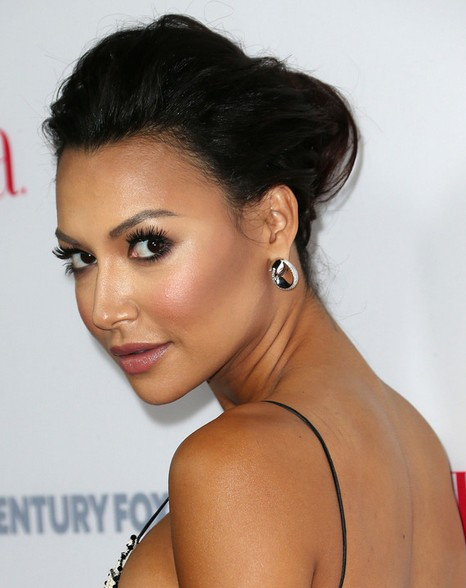 Enjoyable Naya Rivera Long Hairstyles Quick Updo Pretty Designs Short Hairstyles For Black Women Fulllsitofus