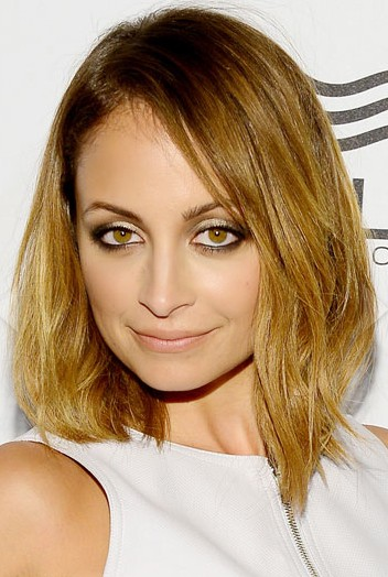Nicole Richie Brown Hairstyle