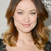 Olivia Wilde Long Ombre Hair