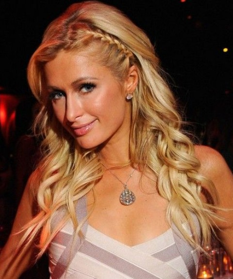 Awe Inspiring Top 25 Paris Hilton Hairstyles Pretty Designs Hairstyle Inspiration Daily Dogsangcom