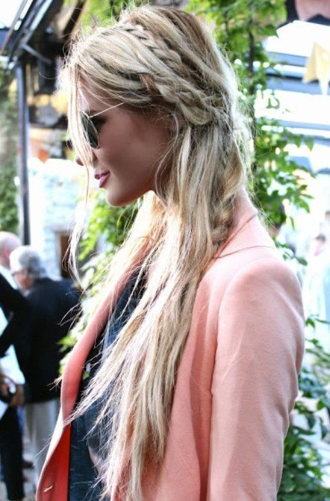 Magnificent Loose Braid Hairstyles Photos Braids Hairstyle Inspiration Daily Dogsangcom