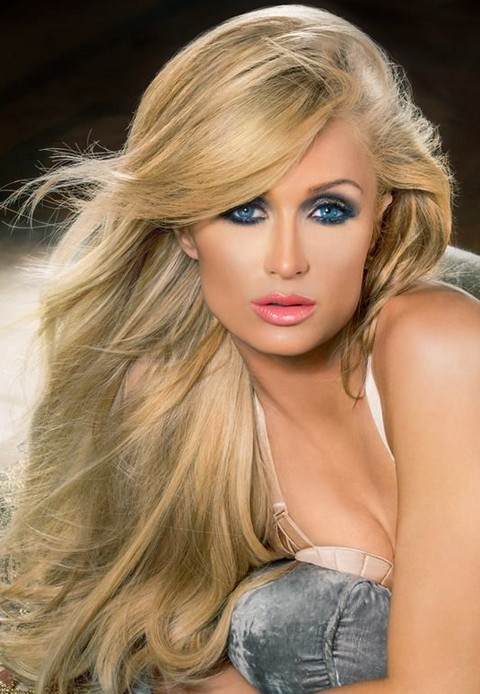 Paris Hilton Hairstyles: Stunning Straight Haircut with Bangs
