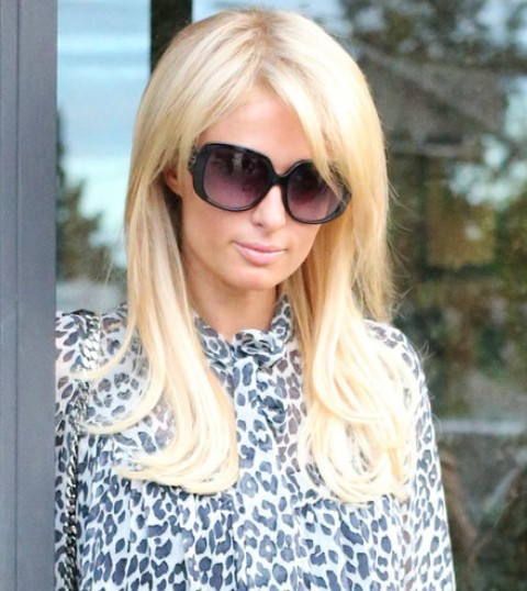 Paris Hilton Hairstyles: Stylish Layered Haircut