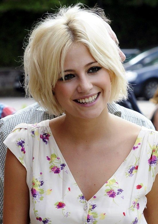 Pixie Lott – Short Blonde Hairstyle for 2014 – Summer Haircut ...