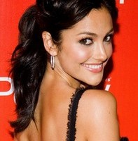 Ponytail Updo for Long Black Wavy Hair