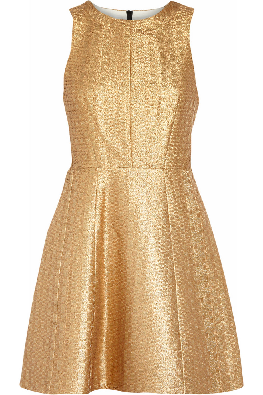 RAG&BONE Renard metallic jacquard dress
