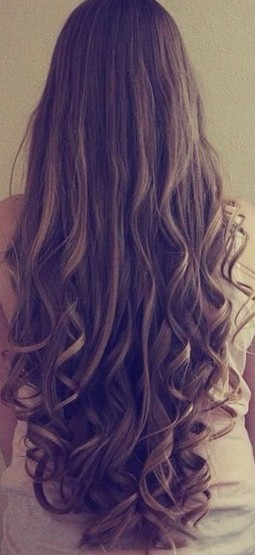 Really Long Ash Blond Ombre Wavy Hairstyle
