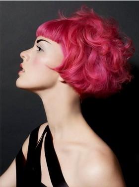 Pleasant 4 Wildly Colored Hairstyles Pretty Designs Short Hairstyles Gunalazisus