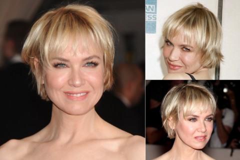Renee Zellweger's Short hairstyles