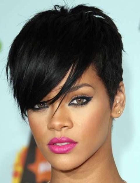 Outstanding Rihanna Hairstyles Gallery 28 Rihanna Hair Pictures Pretty Designs Short Hairstyles Gunalazisus